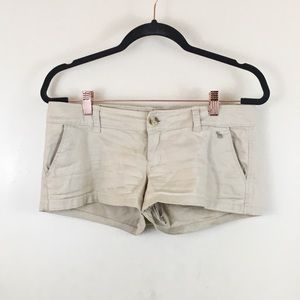 A&F Beige Shorts Size 2